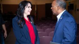 Asm. Rubio with constituent