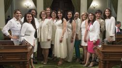 Women's Caucus group photo